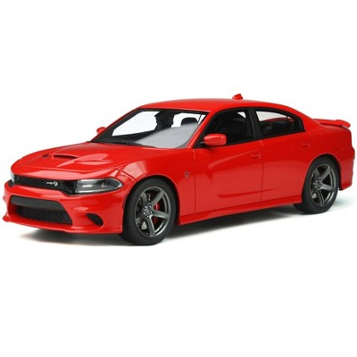 Dodge Charger SRT Hellcat Tor Red Limited Edition to 999 pieces Worldwide 1/18 Model Car by GT Spirit