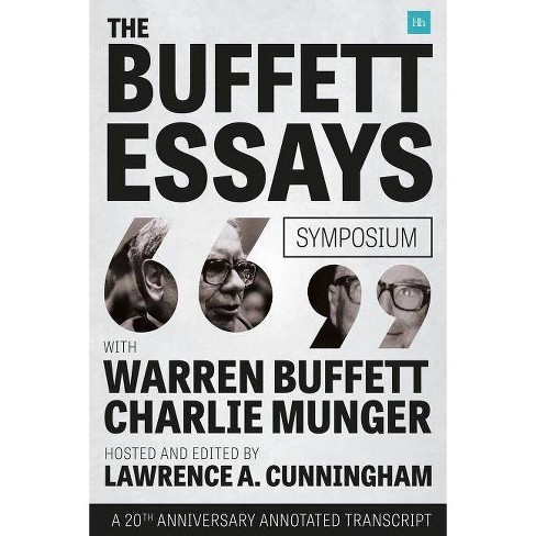 The Buffett Essays Symposium - by  Lawrence A Cunningham (Paperback) - image 1 of 1