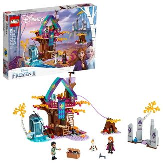 LEGO Disney Princess Frozen 2 Enchanted Treehouse Toy Treehouse Building Kit for Pretend Play 41164