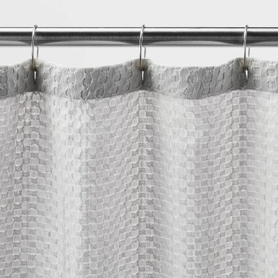gray shower curtains target