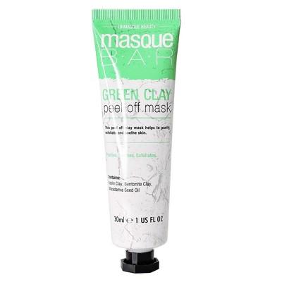 Masque Bar Green Clay Peel Off Mask - 1 fl oz