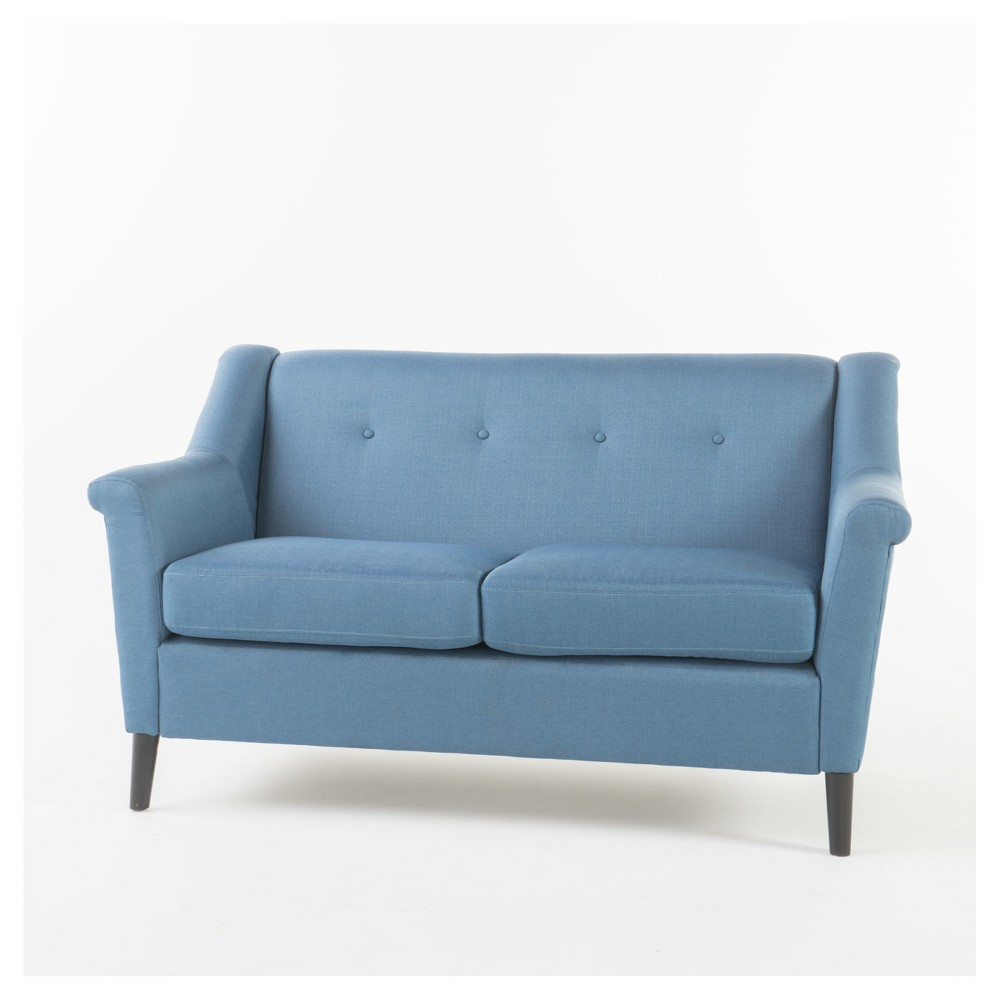 Grace Upholstered Sofa - Navy Blue - Christopher Knight Home