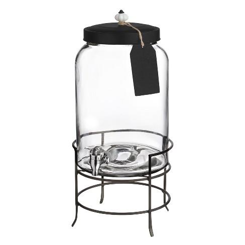 style setter franklin 3gal glass beverage dispenser with metal stand target. Black Bedroom Furniture Sets. Home Design Ideas
