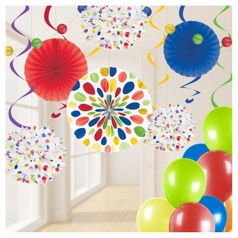 Swril Balloon Party Decorating Kit - image 1 of 4