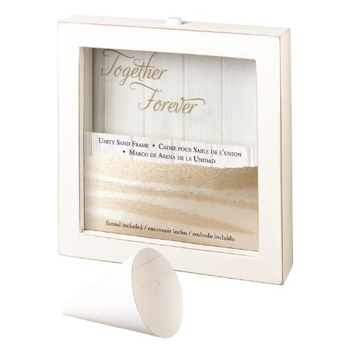 Unity Sand Ceremony Picture Frame White - image 1 of 2