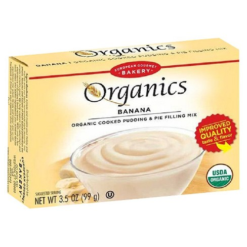 European Gourmet Bakery Organics Banana Pudding Mix 3.5 oz - image 1 of 2