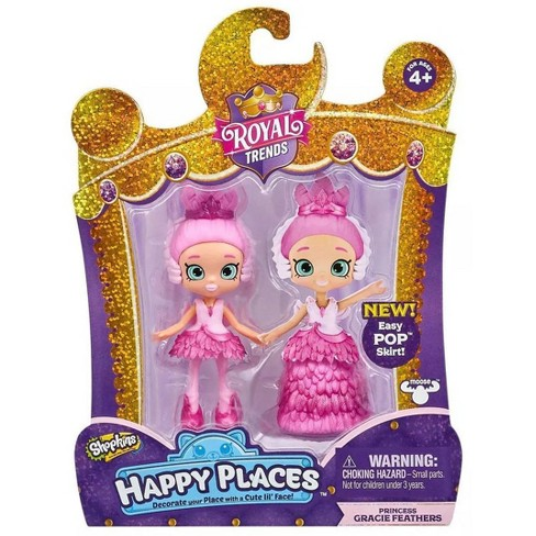 Shopkins Happy Places Royal Trends Princess Gracie Feathers Lil' Shoppie Pack - image 1 of 3