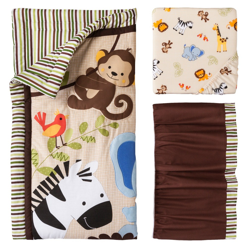 Image of Bedtime Originals Jungle Buddies 3 PC Set