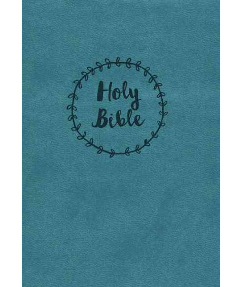 Holy Bible : New King James Version, Blue, Imitation Leather, Red Letter Edition, Reference Bible - image 1 of 1