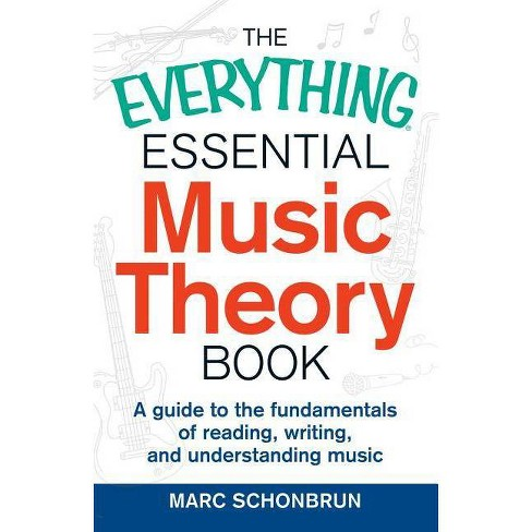 The Everything Essential Music Theory Book - (Everything (Music)) by  Marc Schonbrun (Paperback) - image 1 of 1