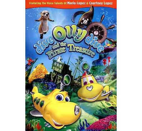 Dive Olly Dive And The Pirate Treasur (DVD) - image 1 of 1