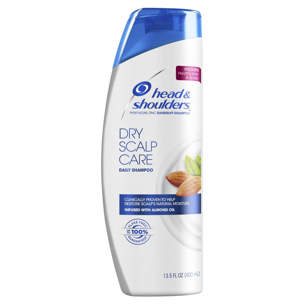 Image of Head and Shoulders Dry Scalp Care with Almond Oil Anti-Dandruff Shampoo, Size: 13.5