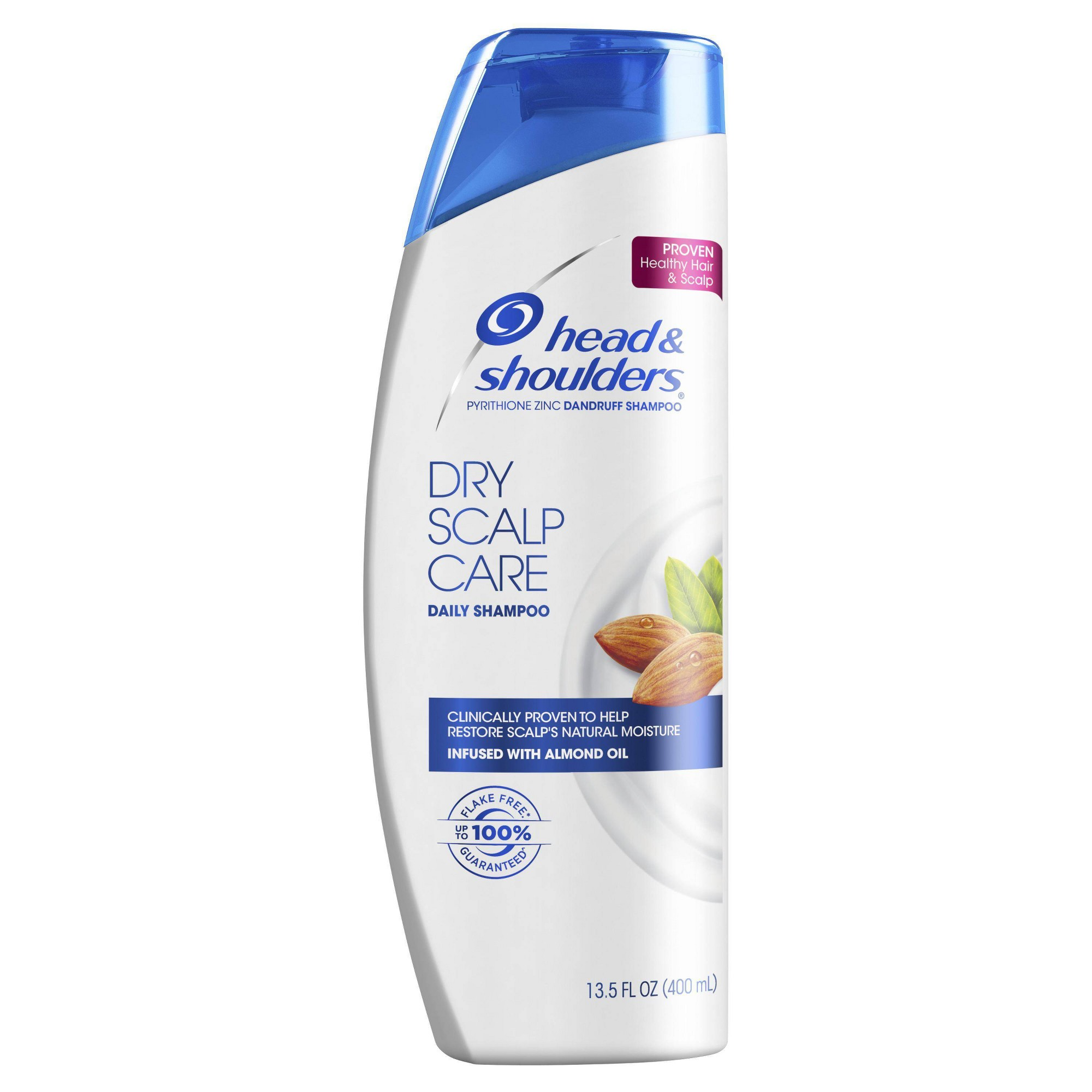 Head and Shoulders Dry Scalp Care with Almond Oil Anti-Dandruff Shampoo, Size: 13.5