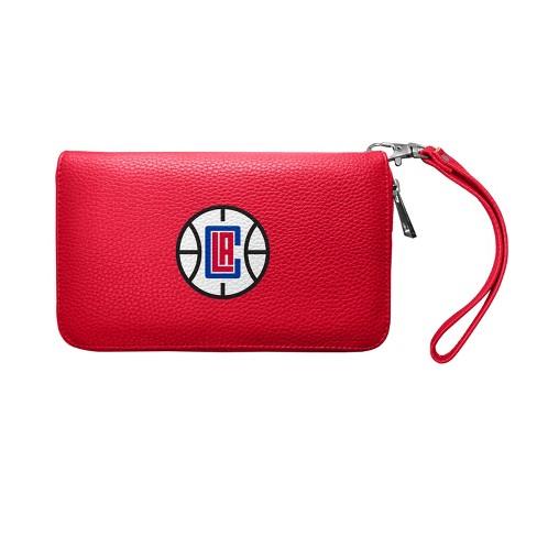 NBA Los Angeles Clippers Zip Organizer Pebble Wallet - image 1 of 2