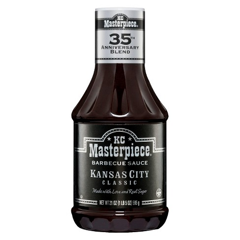 KC Masterpiece Barbecue Sauce 21 oz - image 1 of 1