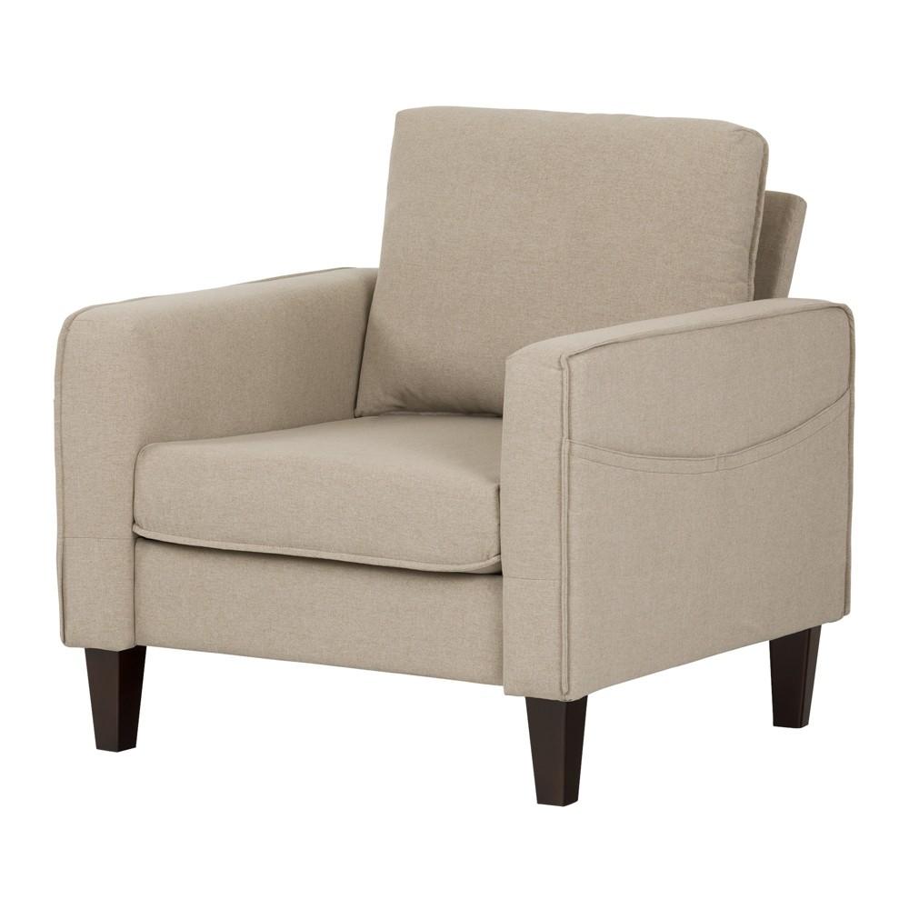 Live It Cozy Sofa, 1 Seat Oatmeal Beige - South Shore