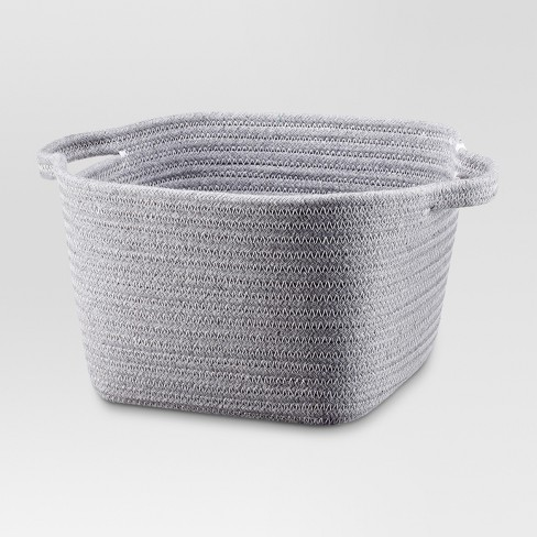 "Small Coiled Rope Basket (9""x9""x6""H) - Threshold™ - image 1 of 1"