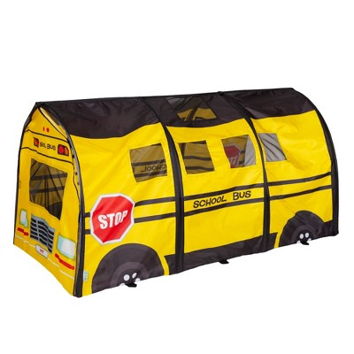 Pacific Play Tents School Bus Kids Play D Tunnel 6 Ft