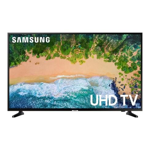 "Samsung 50"" Smart 4K HDR UHD TV - Glossy Black (UN50NU6900) - image 1 of 4"