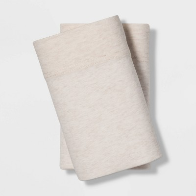King Jersey Blend Pillowcase Set Beige - Project 62™ + Nate Berkus™