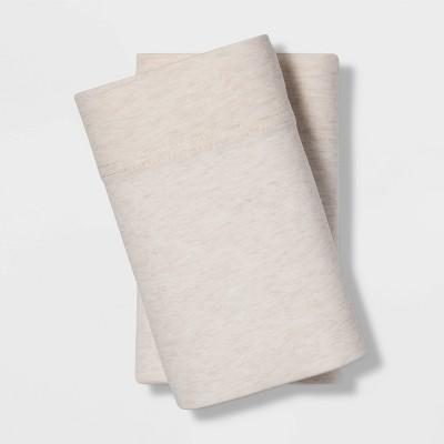Standard Jersey Blend Pillowcase Set Beige - Project 62™ + Nate Berkus™