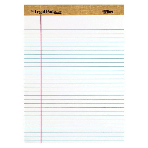 TOPS® The Legal Perforated Pads - White (50 Sheets Per Pad) - image 1 of 1