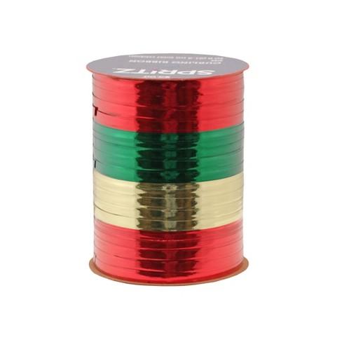4ct Red, Gold, Emerald Curl Ribbon 70ft - Wondershop™ - image 1 of 1