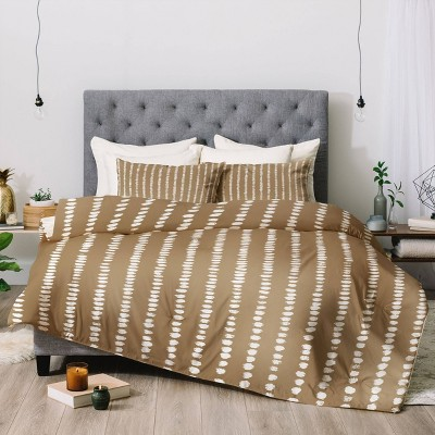 Simple Hand Drawn Pattern Comforter Set - Deny Designs