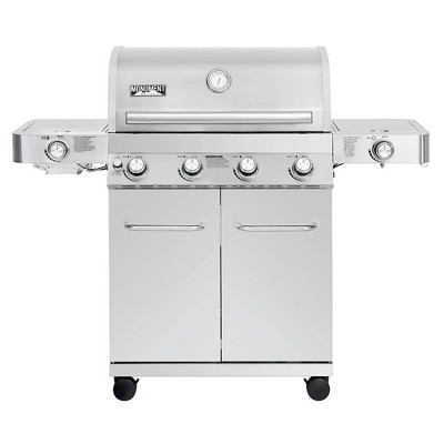4-Burner Propane Stainless Steel Gas Grill Model 24367- Monument Grills