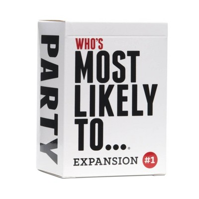 Who's Most Likely To - Expansion One Game