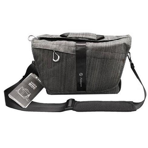 FotoPro Vespa Messenger Bag, Charcoal - image 1 of 4