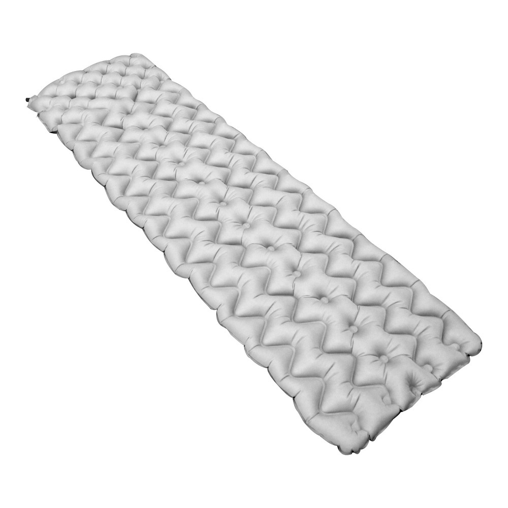 Image of Disc-O-Bed Custom Designed Inflatable Sleeping Pad, Gray
