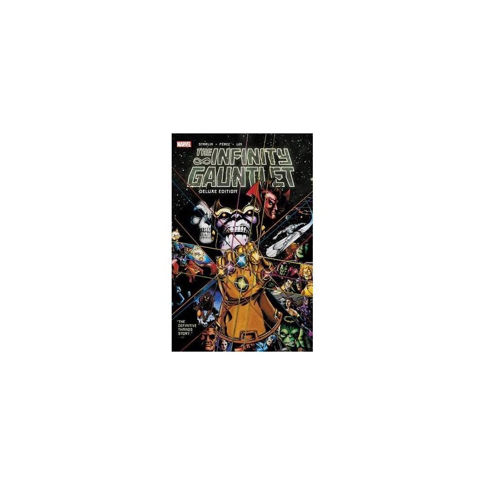 Infinity Gauntlet - Deluxe by Jim Starlin (Paperback)