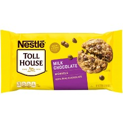 Nestle Toll House Milk Chocolate Morsels - 23oz