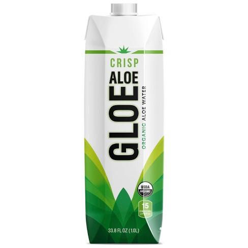 Aloe Gloe Crisp Aloe - 1 L Bottle - image 1 of 3