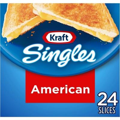Kraft Singles American Cheese Slices - 16oz/24ct