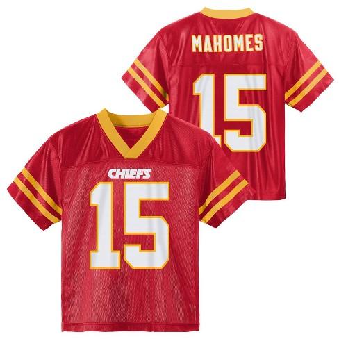 new styles e2432 aeb18 NFL Kansas City Chiefs Toddler Boys' Mahomes Patrick Jersey - 3T