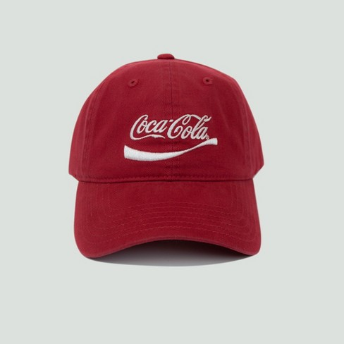 84a87eeb1a3 Men s Coca-Cola Dad Hat - Red One Size   Target