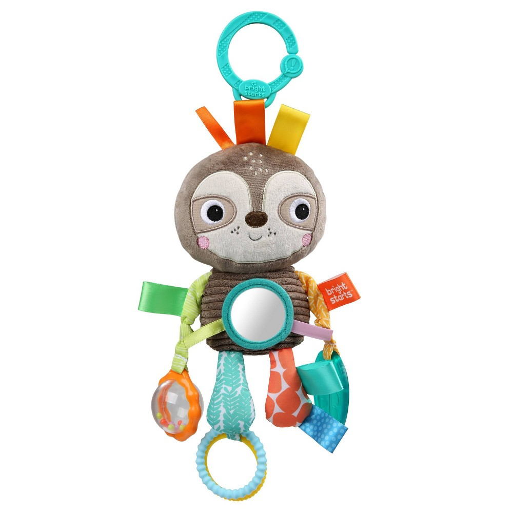 Image of Bright Starts Playful Pals Activity Toy - Sloth