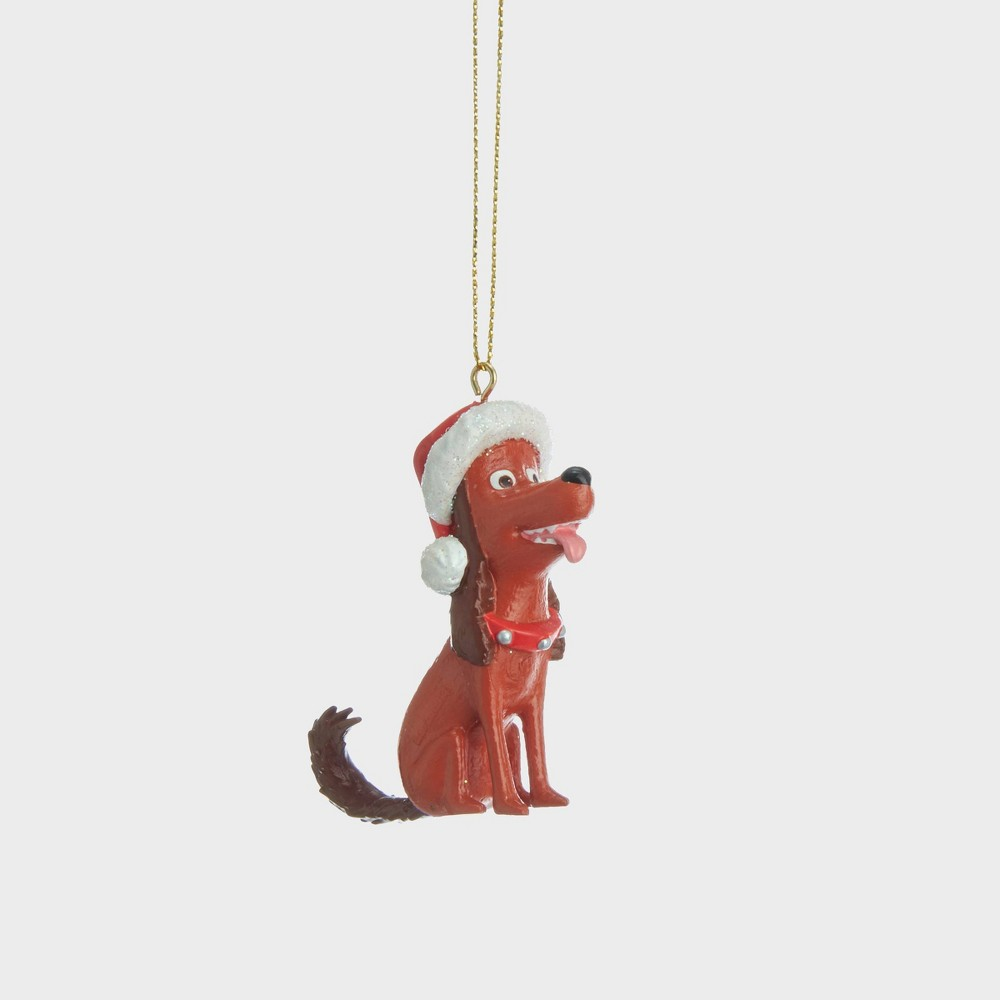 "Image of ""3"""" Dr. Seuss The Grinch Resin Christmas Ornament"""