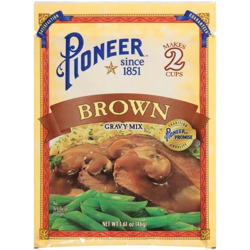 Pioneer Brand Brown Gravy Mix 1.61oz - image 1 of 4