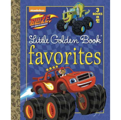 Blaze and the Monster Machines : Mighty Monster Machines / Bouncy Tires! / Wind Power! (Hardcover) - image 1 of 1