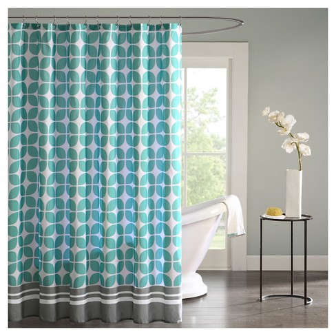 Sony Geometric Pattern Shower Curtain Target