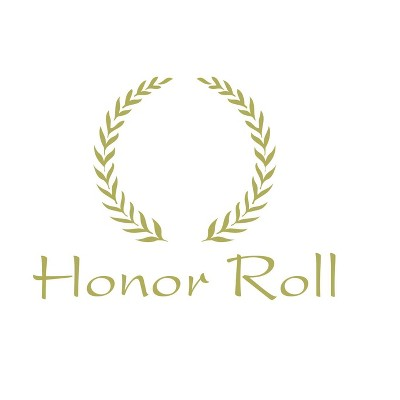Hammond And Stephens Honor Roll Embossed Award, 11 x 8-1/2 inches, Gold Foil, pk of 25