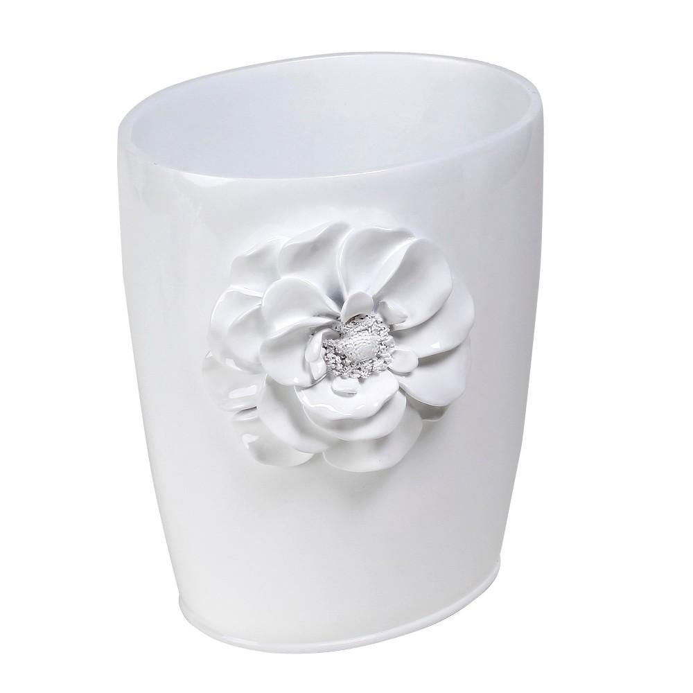 Image of Bathroom Wastebasket Saturday Knight Ltd. White