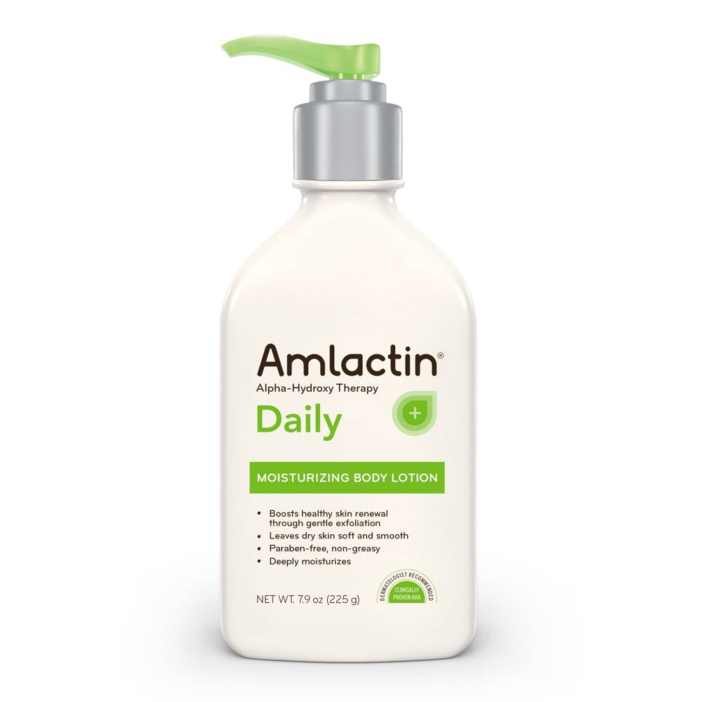 Image of AmLactin Daily Moisturizing Body Lotion Parben Free - 7.9oz
