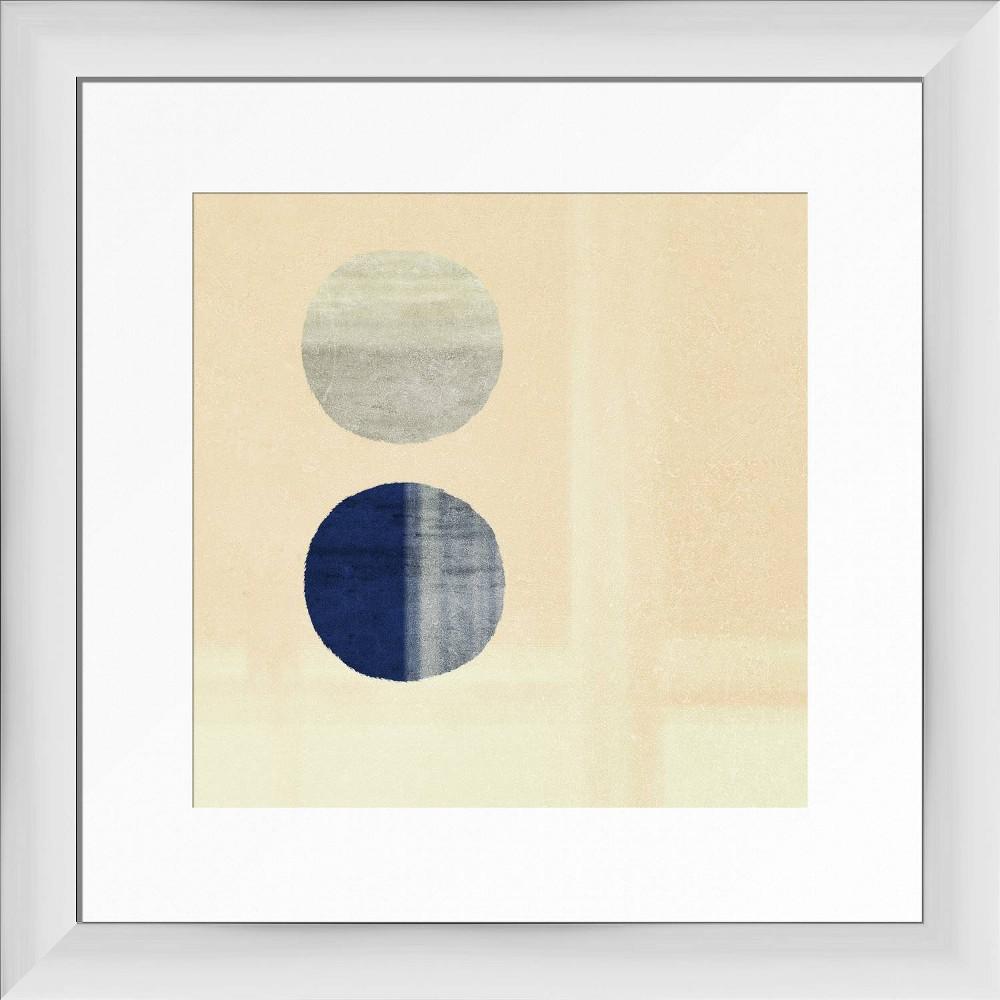 13 34 X 13 34 Balance Framed Wall Art White Ptm Images
