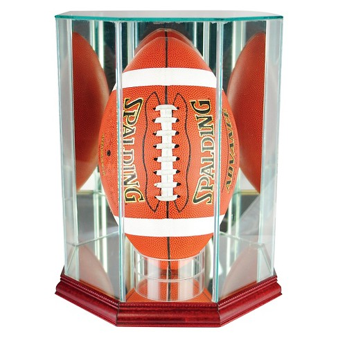 Perfect Cases Upright Octagon Football Display Case - image 1 of 2