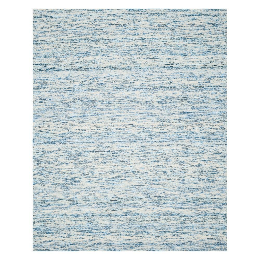 8'X10' Spacedye Design Loomed Area Rug Blue - Safavieh