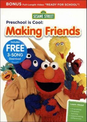 Sesame Street: Preschool Is Cool! - Making Friends (DVD)